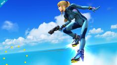 This is the design for the outfit that I wanted to recreate in #latex.  Super Smash Bros. for Nintendo 3DS / Wii U: #ZeroSuit #Samus