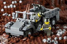 Lego Soldiers, Lego Ww2, Lego Army, Lego Clones, Lego Truck, Lego Construction, Lego Worlds, Cool Lego Creations, Lego Design