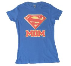 Superman Super Mom T-Shirt Front