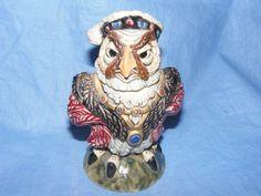 Burslem Pottery Grotesque Bird King Henry VIII Tobacco Jar Wally Bird #Grotesquebird