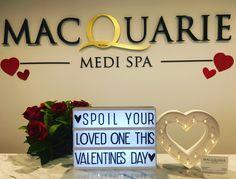Spoil a loved one to a Macquarie Medi Spa gift voucher this Valentines  Day  🌹🌹🌹Orange & Bathurst NSW www.macquariemedispa.com