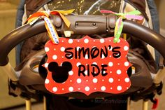 seven thirty three - - - a creative blog: DISNEY LOVE: Stroller Sign