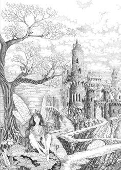 Fairy Pathway by ellfi @ deviantART