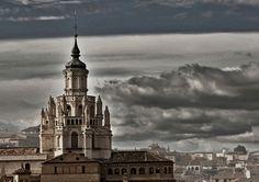 Cimborrio de la catedral, de la exposición 'Tarazona Monumental. Patrimonio Cultural y Natural'