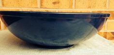 Fabulous Melamine TEXAS WARE Huge Mixing Bowl (135) - Navy Blue on Etsy, $39.95