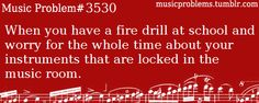 Yeah... Poor instruments, all alone in the dark locker... Wondering if they will survive or not ^^
