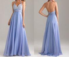 fashion blue prom dress, long prom dress, cheap prom dresses, chiffon prom dress, RE092