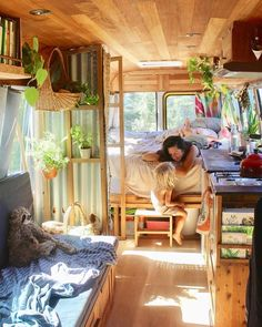VAN LIFE Guide At first glance, seems to be perfect. However, you shouldn't underestimate it. In this guide we cover EVERYTHING you need to know about VAN LIFE Interior Ikea, Camper Interior Design, Van Interior, Airstream Interior, Airstream Vintage, Volkswagen Bus Interior, Vintage Rv, Vintage Caravans, Vintage Campers