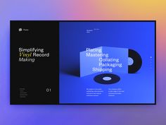 Fono Homepage by mxmc - Dribbble