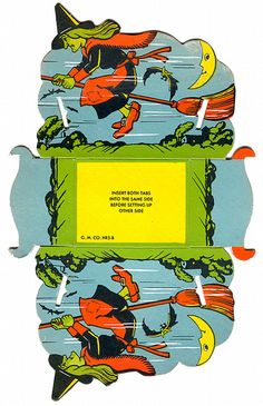 Witch Candy Container (1950s) by bindlegrim, via Flickr