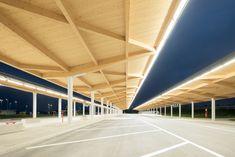 Gas Station and Rest Area / Allmann Sattler Wappner . Architekten - Fürholzen, Germany