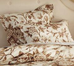 Nob Hill Floral Duvet Cover & Sham