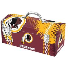 Washington Redskins Steel Tool Box