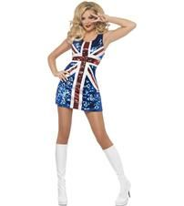 Around the World English Flag Fancy Dress Costumes