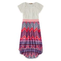 Speechless® High-Low Chevron Dress - Girls 7-16  found at @JCPenney