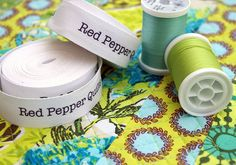 Red Pepper Quilts: Quilt Labels