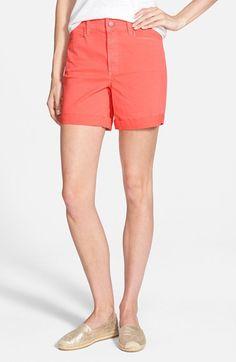 Women's NYDJ 'Avery' Colored Roll Cuff Denim Shorts
