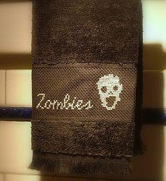 zombie guest towel