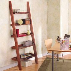 DIY: leaning tower of shelves