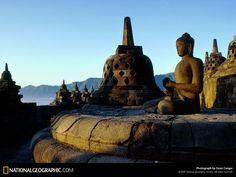 Borobudur temple, Yogjakarta, Java Indonesia
