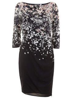 Willow Print Bodycon Dress