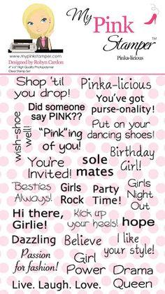Pinka-licious (4x6) - My Pink Stamper - Picasa Web Albums