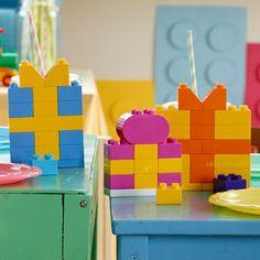 Decoracion cumpleaños de lego reglos
