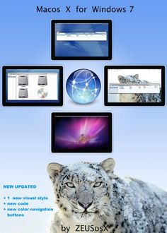 Mac OS X / Wın 7 Theme