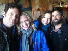 Luka, Jess, Len & Stephen shooting on location in Red Hook, Brooklyn