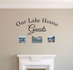 Our Lake House Decal - Our Lake House Guests - Ocean - Be Our Guest Wall Quotes - Beach House Wall Decor - Coastal Charm - Lake Life Beach Wall Decals, House Guests, California King Bedding, House Wall, Lake Life, King Beds, Bed Sizes, Wall Quotes, Step By Step Instructions
