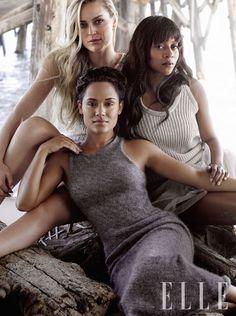 Lindsey Vonn, Skier Grace Gealey, Actress, Empire Camilla Blackett, TV Writer