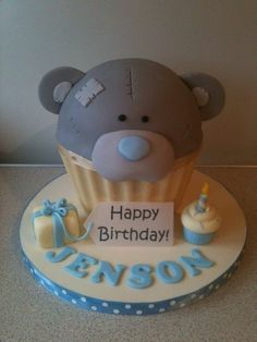 Tatty Teddy giant cupcake