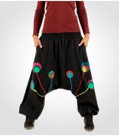Pantalon Hippie Afgano de Mujer