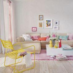 Como decorar una pared con un cuadro en color azul pastel - Buscar con Google