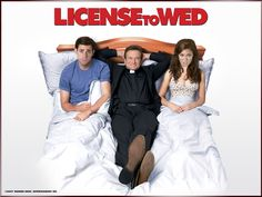 Watch Streaming HD License To Wed, starring Mandy Moore, John Krasinski, Robin Williams, Eric Christian Olsen. A reverend puts an engaged couple through a grueling marriage preparation course to see if they are meant to be married in his church. #Comedy #Romance http://play.theatrr.com/play.php?movie=0762114