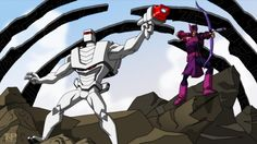 Finally, ROM spaceknight & The Avengers join forces on more then just cover art from the Ms Marvel, Marvel Heroes, The Avengers, Avengers Earth's Mightiest Heroes, Space Knight, Arte Nerd, Hands In The Air, Famous Cartoons, American Comics