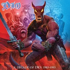 """Follow Dio through the band's early years with A DECADE OF DIO: 1983-1993, a new box set that brings together their first six studio albums, each featuring newly remastered sound.  It includes: Holy Diver (1983) The Last In Line (1984) Sacred Heart (1985) Dream Evil (1987) Lock Up The Wolves (1990) Strange Highways (1993)  This 6LP + 7"""" vinyl single set will come housed in a box featuring new artwork by Marc Sasso, who was responsible for many of the band's iconic covers.  On the first side…"""