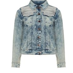 Zizzi Blue Plus Size Distressed denim jacket