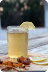 Turmeric Ginger Lemonade   Try this anti-inflammatory ginger tumeric lemonade recipe to ease pain in your joints and to ward off seasonal sickness. It's delicious hot or cold!