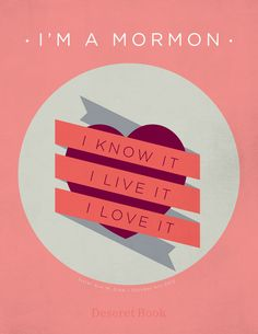 """I am a Mormon. I know it. I live it. I love it.""- quoted by Ann M. Dibb #ldsconf #lds #mormons #generalconference"