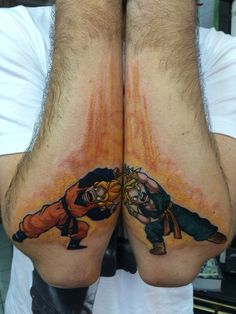 Dragon Ball tattoo by Suliée Pepper! #dragonball #fusion #dbz