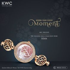 Adorn your every moment with this beautiful timepiece  #RagaFoliageWatch  #KhimaniWatchCompany