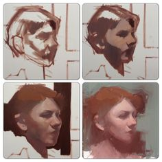 """Piece of cake"" KB Process shots of a recent alla prima portrait Painting Process, Process Art, Figure Painting, Painting & Drawing, Art And Illustration, Shetland, Traditional Paintings, Portrait Art, Gouache"
