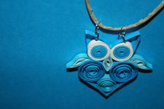 From the 3/26 sneak attack -- Paper OWL pendant by Papersing on Etsy
