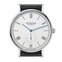 Nomos Ludwig Datum; The Ludwig holds true to Nomos sensibility with a simple linear san-serif font for its Roman numerals. It is a Renaissance compared to classic dress watches. All the balance, none of the extras.
