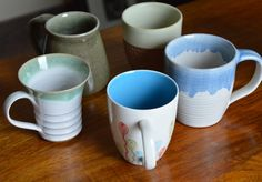 unique handmade mugs, teacups and teapots from Nepal, Vietnam and India Buy 1, Fun To Be One, Tea Pots, Mugs, Tableware, Handmade, Stuff To Buy, Dinnerware, Cups