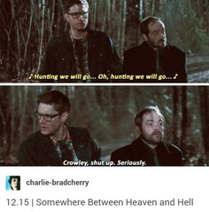Shut Up, Crowley