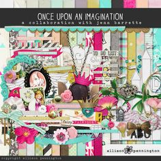 Once Upon an Imagination a Jenn Barrette & Allison Pennington collaboration