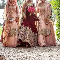 Pin by Selena Jean on Bridesmaid hijab Indian bridesmaid dresses, Indian bridesmaids Indian Bridesmaid Dresses, Designer Bridesmaid Dresses, Bridesmaid Outfit, Pakistani Wedding Dresses, Indian Dresses, Indian Outfits, Wedding Hijab Styles, Bollywood, Asian Bridal