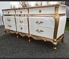 29 ideas upcycled furniture before and after shabby chic french provincial Decor, Redo Furniture, Diy Furniture, Refurbished Furniture, Painted Furniture, Beautiful Furniture, French Provincial Dresser, Furniture Decor, Paint Furniture